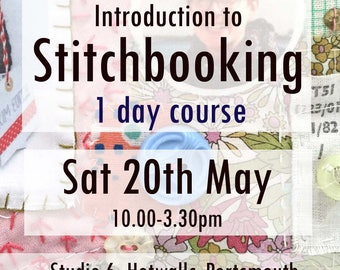 Stitchbook Workshop: 1 day Course, 20th May 2017. Portsmouth