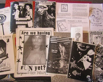 Riot Grrrl Nostalgia zine grab bag #THIRTEEN