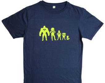 Father's Day T shirt|gift for dad|mens t shirt|superhero|hulk|Wonder Woman|personalised t shirt