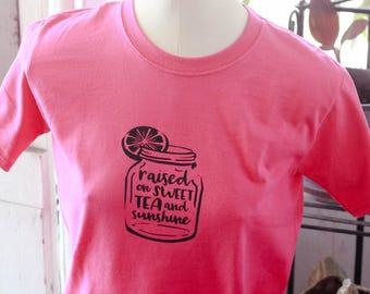Sweet Tea and Sunshine youth Shirt