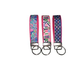 Preppy Grosgrain Ribbon Wristlet - Teacher Gift Sale
