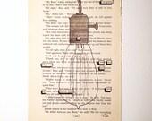 RESERVED FOR L + K//Blackout Poetry (aim too high) Original Artwork & Poem