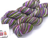 SALE - One of a Kind Traditional Self-Striping Sock Yarn - Ready to Ship