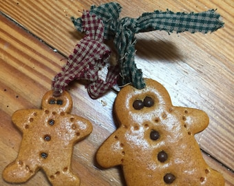 Two Gingerbread ornaments