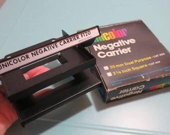 "SJK Vintage -- My Dad's Estate -- Vintage Unicolor Negative Carrier, 35mm, 2.25"" Dual Purpose  (1980's)"