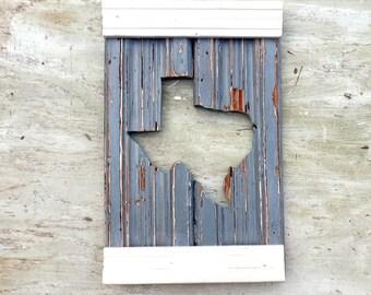 Texas Wall Art, Rustic Wood Decor, Rustic Texas Decor, State Outline Art, Wooden Texas, Reclaimed Wood Wall Art, Wood Texas Sign,