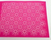 Lace 1 Silkscreen for Polymer clay, Paper Crafts, painted patterns on smooth surfaces