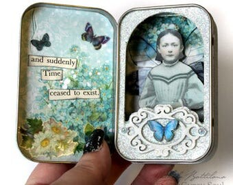 Altered Altoids Tin - and suddenly time ceased to exist