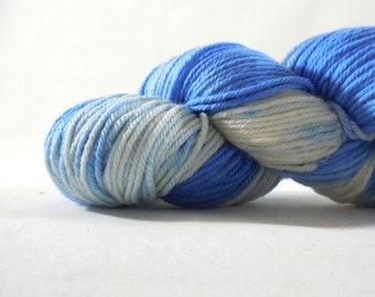 "Old School Merino Worsted Weight yarn in ""Acid Washed"" by AnniePurl"