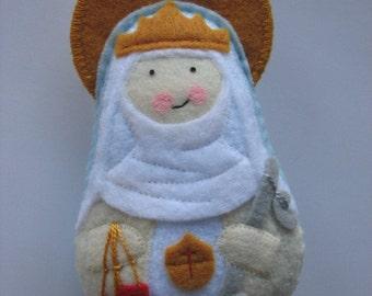 Our Lady of Mercy...Felt Softie