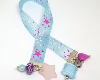 Dream Themed Ribbon and Bead Bookmark