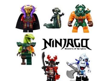 Ninjago Iron on Fabric Heat Transfer images