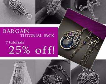 Bargain tutorial pack - 7 tutorials for over 25% LESS