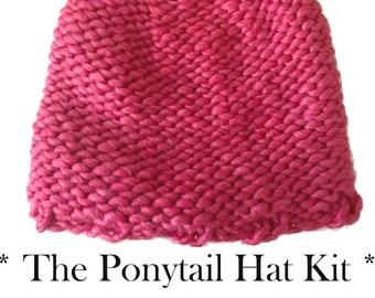"Shop ""ponytail hat pattern"" in Kits"