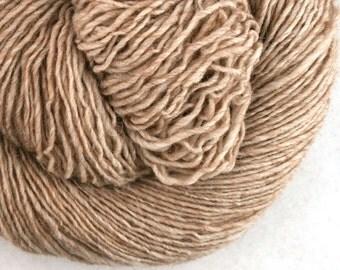 Olana fingering weight cormo alpaca angora blend yarn 300yds/274m 2oz/57g Naturemade