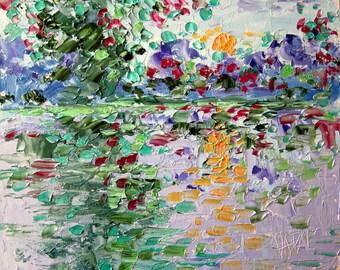 Print - Sunshine pond - 8 x 10 Buy 2 get 1 FREE  by  Vadal
