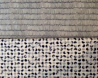 Nocturne - Fabric From Moda - Half Yard Set - 2 Prints - 9.95 Dollars