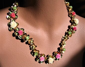 MAY statement necklace