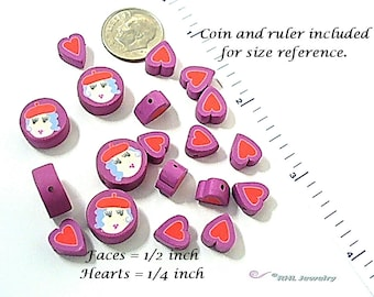 Red Hat Society  Beading Supplies -  Jewelry Destash - S68