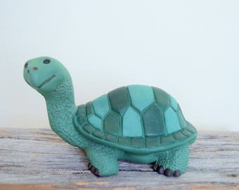Ceramic Turtle - Tortoise - Painted Turtle - Cute Turtle for your garden - Yard Art Turtle - Turtle Statue - Outdoor Decor - Turtle Figurine