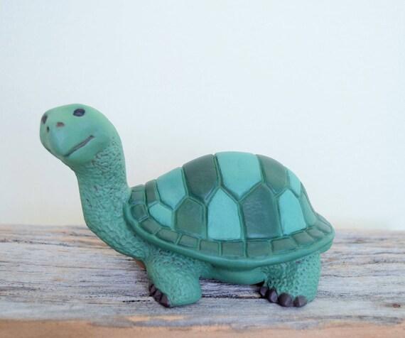 Ceramic Turtle - Tortoise - Painted Turtle - Cute Turtle for your garden - Yard Art Turtle - Turtle Statue - Outdoor Decor - Turtle Figurine