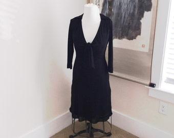 Vintage Laundry by Shelli Segal Black Dress