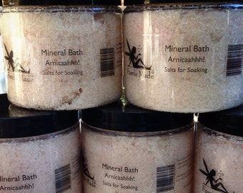 Arnicaaaahhh: Mineral Salts For Soaking