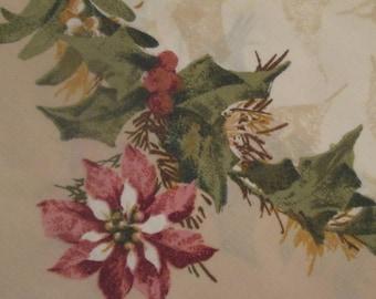 Vintage Christmas Pillowcase - King Cotton Pillowcase - Christmas Decor