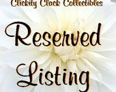 Reserved for sbnklly: Turnings, Stackers, Vehicles