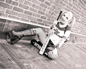 """Harley Quinn Suicide Squad Pinup 8""""x10"""" print"""