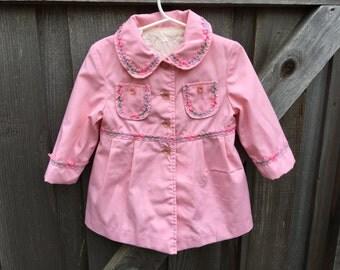Vintage Toddler Coat 2/3T