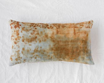 Rusted Canvas Pillow