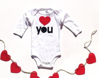 Love U , Valentines Day, Felt Iron On Appliques