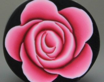 Polymer Clay Pink Rose Cane -'Intricacies of the Heart' (30aa)