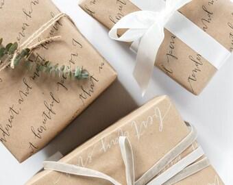 Vous êtes les meilleurs Kraft Gift Wrap - set de feuilles