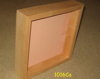 Shadow box frame 10 x 10 display area