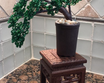 French Beaded Mini Classic Bonsai (FREE SHIPPING)