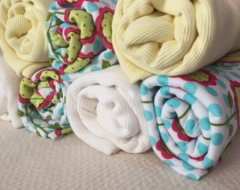 Cotton Swaddling Blankets 42x42 inches