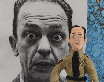 Don Knotts Doll Miniature Celebrity Art Collectible TV Comedian