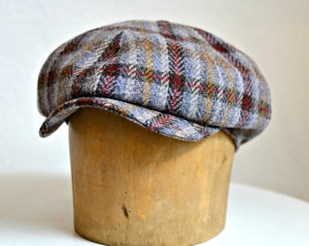 Newsboy Cap in Vintage Yorkshire Wool - Made to Order in Your Size