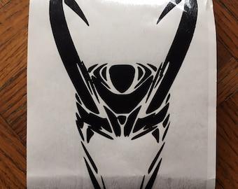Marvel Loki inspired Car, Laptop, or Decor Vinyl Decal