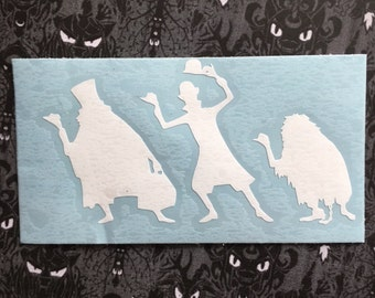 Disney Haunted Mansion Inspired Hitchhiking Ghosts Car, Laptop, or Decor Decal