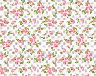 ON SALE Riley Blake Designs Kewpie Love - Floral Cream