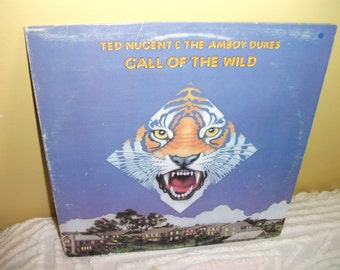 Ted Nugent and the Amboy Dukes Call of the Wild Vinyl Record Album NEAR MINT condition