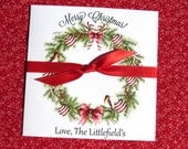 Christmas Party Gifts - Christmas Gift Card Holders - Holiday Party - Christmas Lottery Ticket Holders