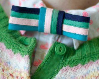 """The """"Mary"""" ladies bow tie // pre-tied bow tie for women // xoelle lady tie"""