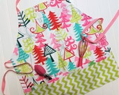 Kids-Aprons-Pink-Lime-Tre...
