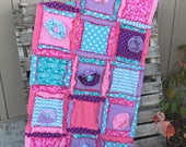 Toddler Bed Quilt and 2 Pillow Shams