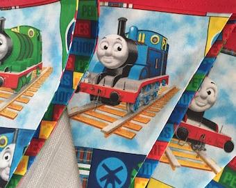 Thomas The Tank Engine - Party,  Birthday, Playroom, Classroom Decorating 6 Bunting Flags 4.5 feet