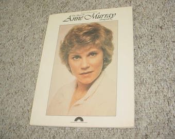 the best of Anne Murray Songbook 1980 piano vocal chords sheet music book